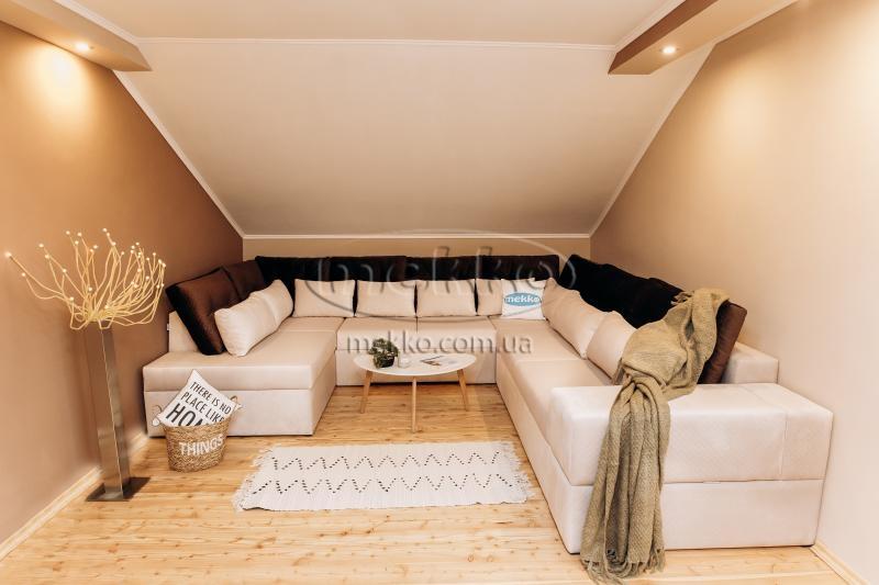 Ортопедичний П-подібний диван Emperador (Емперадор) (3400х3250х2000) ф-ка Мекко-2
