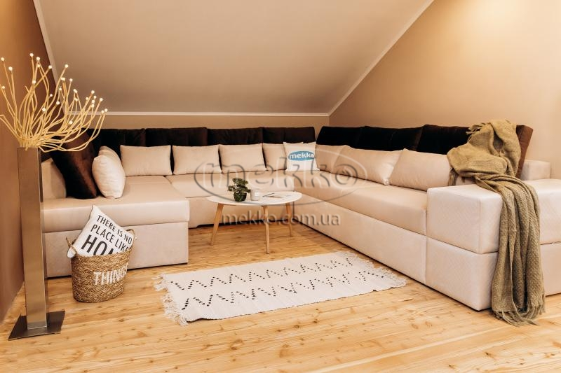 Ортопедичний П-подібний диван Emperador (Емперадор) (3400х3250х2000) ф-ка Мекко