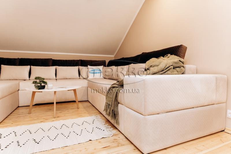 Ортопедичний П-подібний диван Emperador (Емперадор) (3400х3250х2000) ф-ка Мекко-3