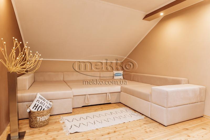 Ортопедичний П-подібний диван Emperador (Емперадор) (3400х3250х2000) ф-ка Мекко-12