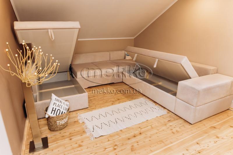 Ортопедичний П-подібний диван Emperador (Емперадор) (3400х3250х2000) ф-ка Мекко-11