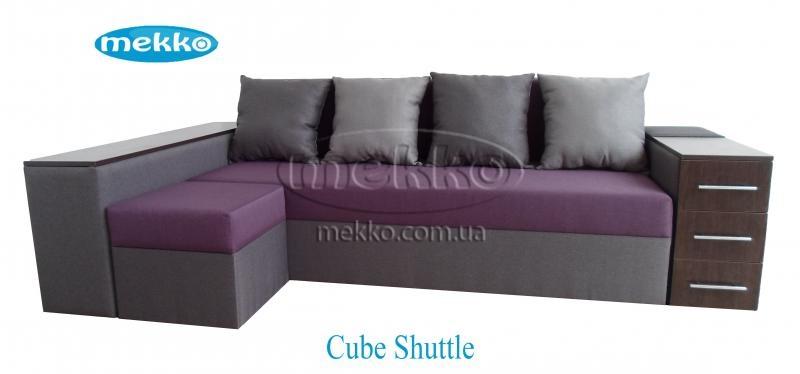 Ортопедичний кутовий диван Cube Shuttle (Куб Шатл) (2600x1430) ф-ка Мекко-17