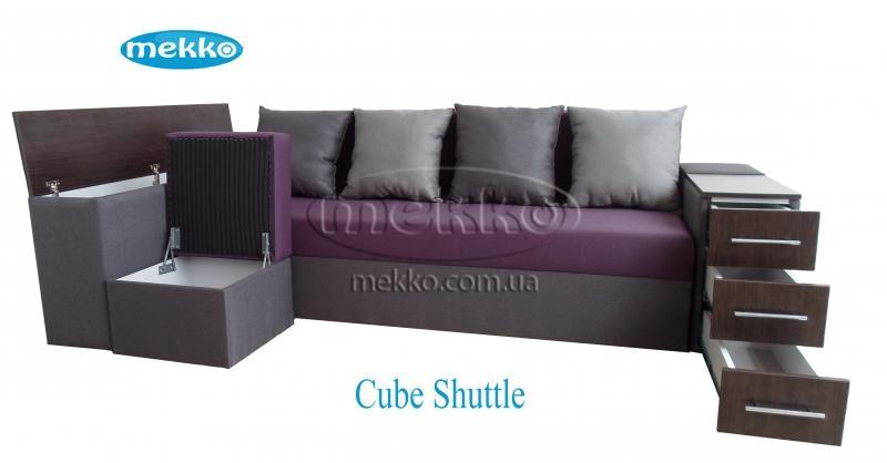 Ортопедичний кутовий диван Cube Shuttle (Куб Шатл) (2600x1430) ф-ка Мекко-19