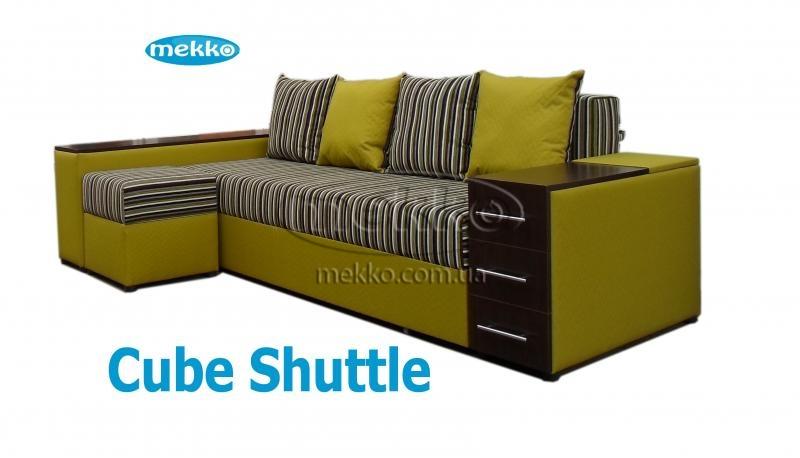 Ортопедичний кутовий диван Cube Shuttle (Куб Шатл) (2600x1430) ф-ка Мекко-23