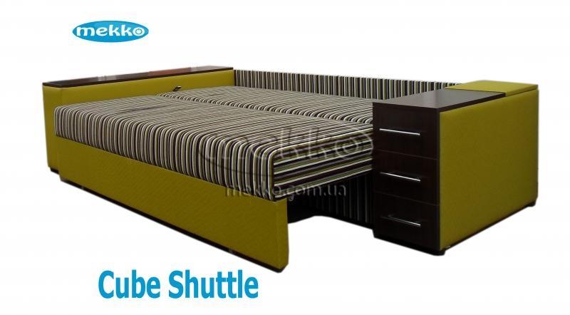 Ортопедичний кутовий диван Cube Shuttle (Куб Шатл) (2600x1430) ф-ка Мекко-21